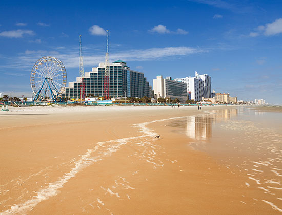 daytona beach fl Plan a fun-filled daytona beach vacation and enjoy thrilling water sports and world class attractions like the daytona international speedway.