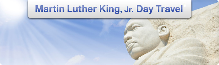 Martin Luther King Vacation Deals | Armed Forces Vacation ...